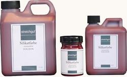 Streichgut Silikatinnenfarbe Vollton Eisenoxidrot, 0,5 l, RW 4 m²