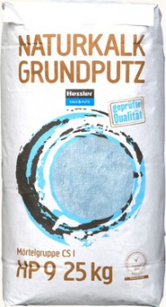 HP 9  Hessler, Naturkalk Grundputz- 25kg/Sack