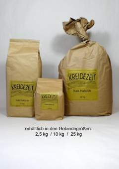 KREIDEZEIT- Kalk Haftputz, Körnung 1,4mm, 2,5kg
