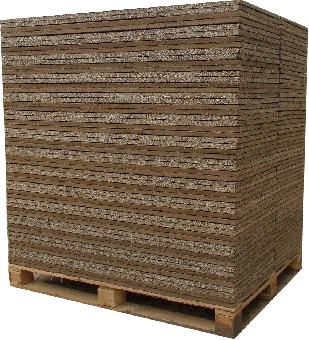 Lehmbauplatte Schleusner, Maße 125 x 100cm x 22mm, 60 m² 60 m²