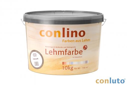 Conlino Lehmfarbe 10 kg, verschiedene Farben