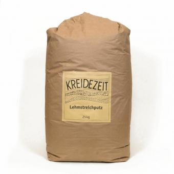 KREIDEZEIT Lehmstreichputz NEU, weiß, 2,5 Kg,  RW 12,5 m²