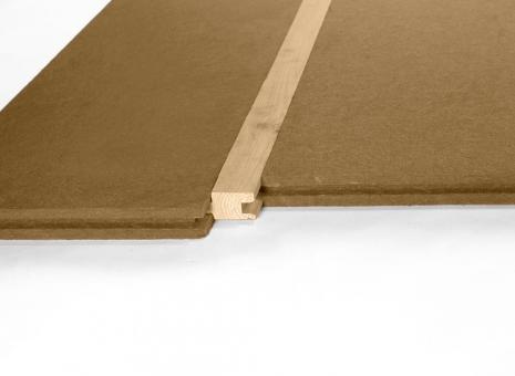 Steico Floor, 60mm, Holzfaserdämmplatte für Fußboden, VPE 1,38 m², ohne Profilleiste