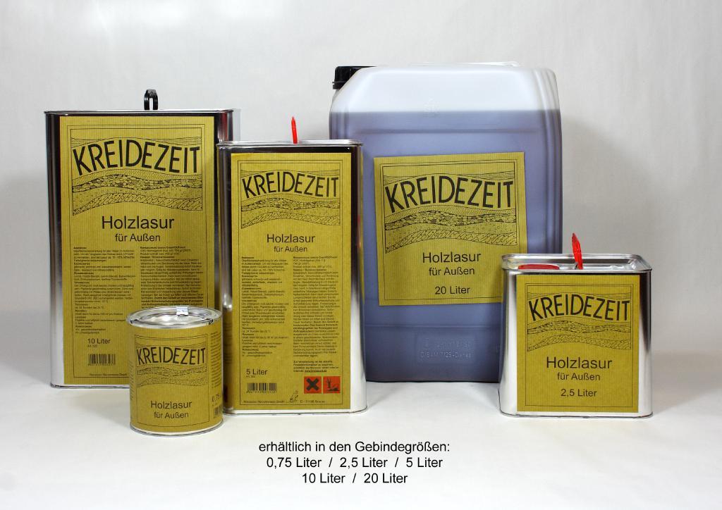 naturbauhof prenzlau shop kreidezeit holzlasur farblos 0. Black Bedroom Furniture Sets. Home Design Ideas